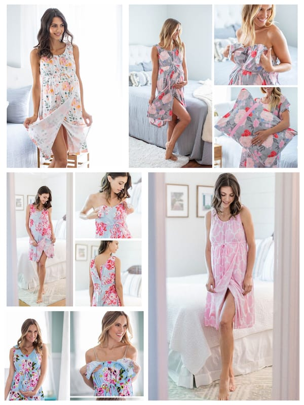 Labor and Delivery Gowns in Darling Prints