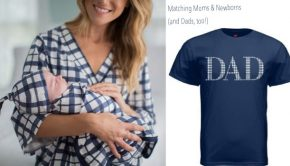 Matching Moms & Newborns (and Dads, too!)
