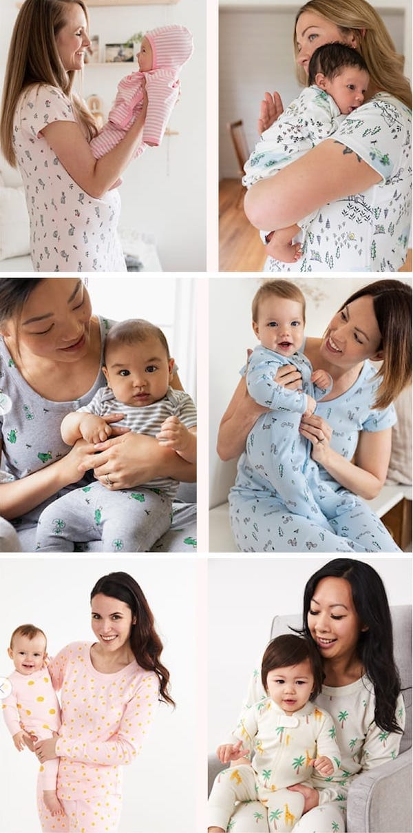 Mommy and Baby Matching Sleepwear