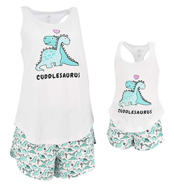 Mommy and Me Cuddlesaurus Loungewear