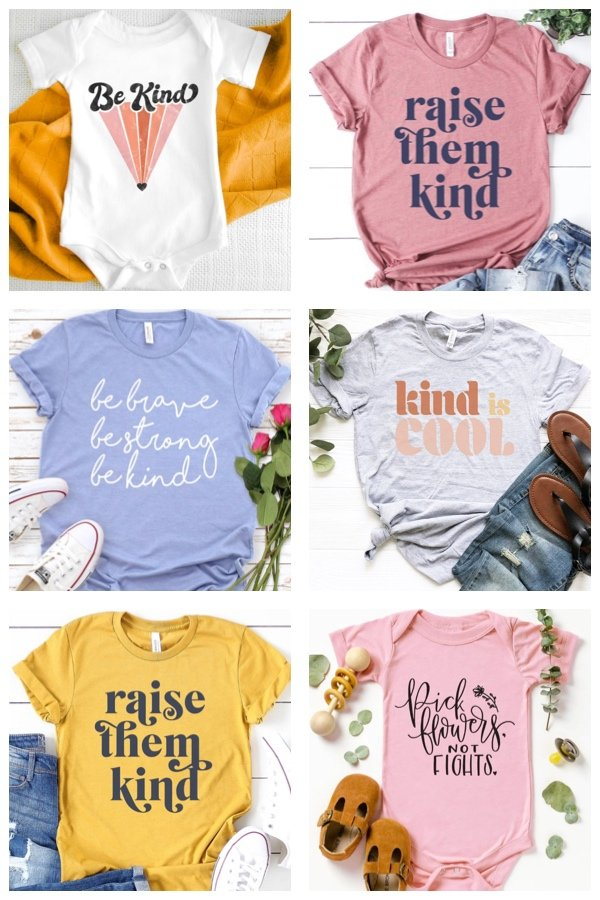 Kindness Shirts and Onesies