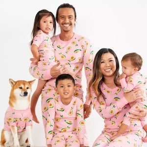 Pajama Party Matching Family Instagram