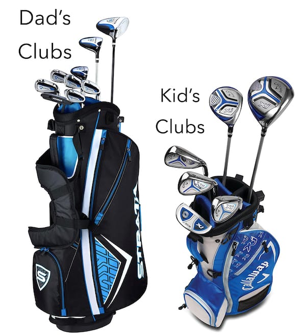 Daddy and Me Golf Club Sets