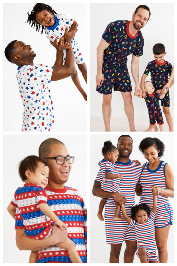Daddy and Me Summer Pajamas for Fathers Day