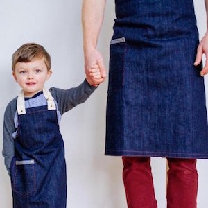 Matching Aprons Father's Day Instagram