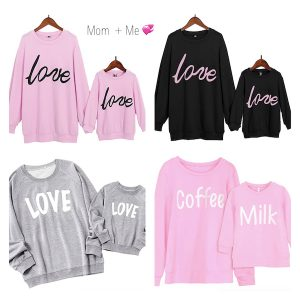 Mommy and Me Matching Love Sweatshirts