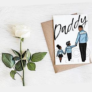 Daddy and Me Fathers Day Card