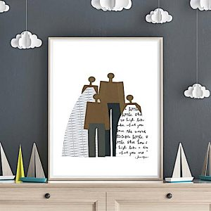 Family Portrait Printable