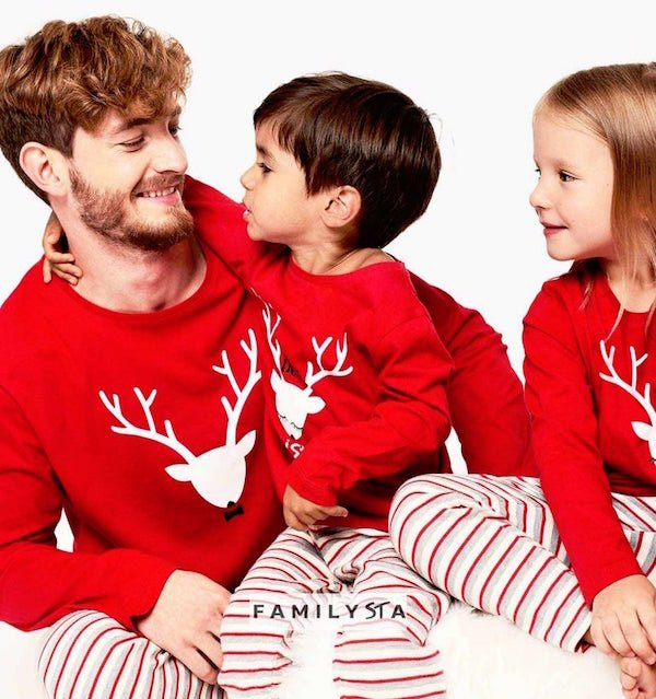 Christmas Red Deer XMAS Family Pajamas