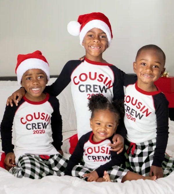 Kids Matching Buffalo Plaid Pajamas Cousin Crew