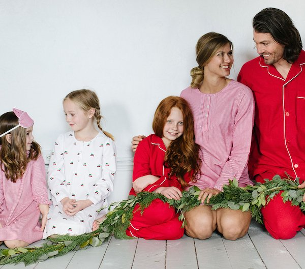 Mix + Match Red Holiday Pajamas