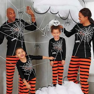Mommy, Daddy & Me Halloween Pajamas