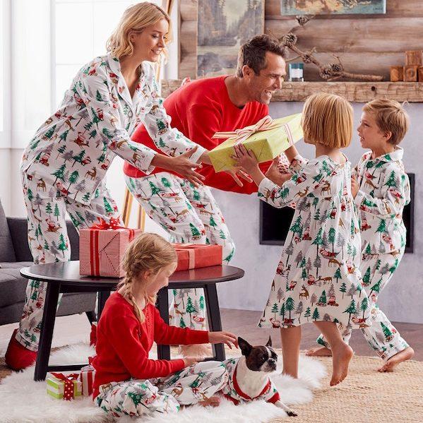 Santa Flannel Pajamas