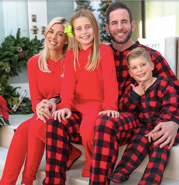 Tarek El Moussa, His Children, and Heather Rae Young Christmas 2019