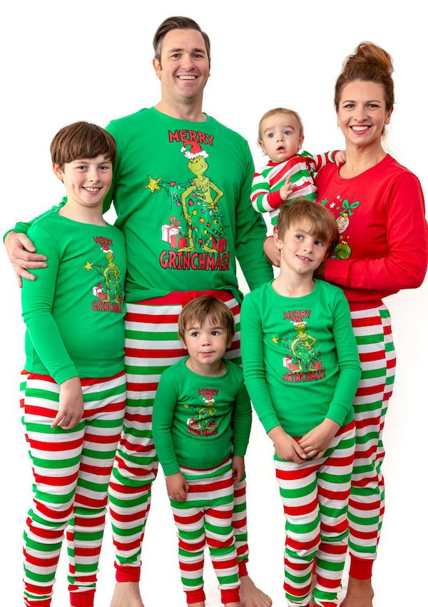 The Grinch Christmas Matching PJs
