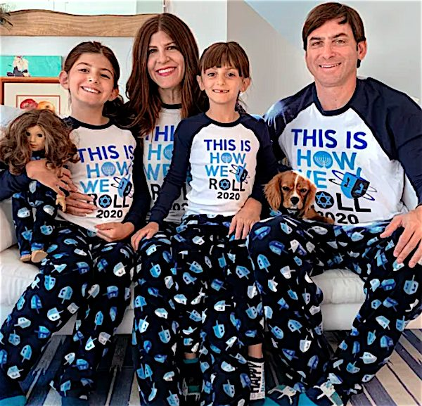 This Is How We Roll 2020 Family Matching Hanukkah Pajamas