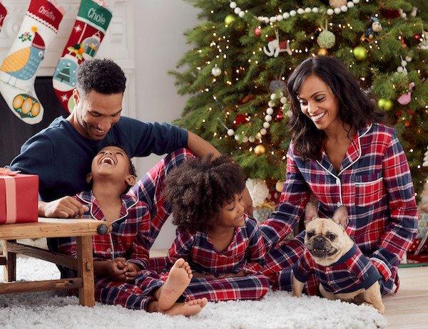 Whitaker Plaid Flannel Family Matching Pajamas