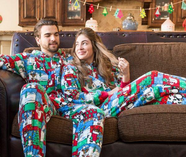 Winter Fun Christmas Onesies Big Foot Pajama Company