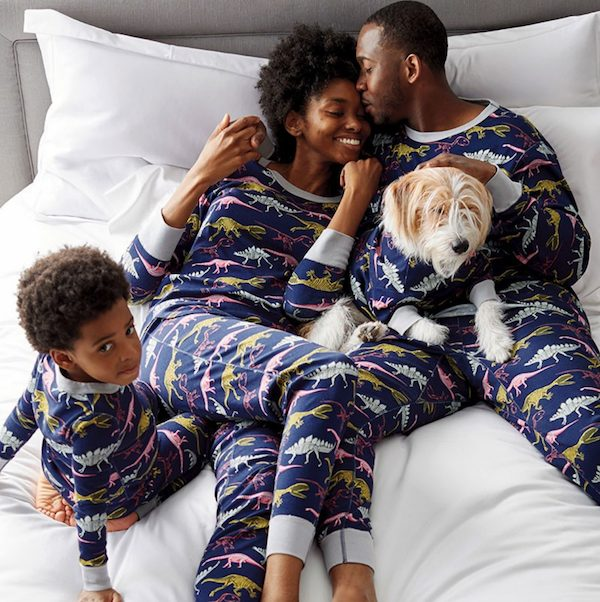 Company Cotton™ Family Snug-Fit Organic Cotton Matching Pajama Set Dinosaurs