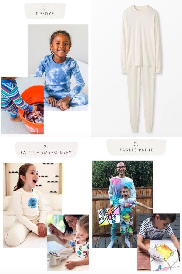 Hanna Anderson DIY Family Matching Pajamas