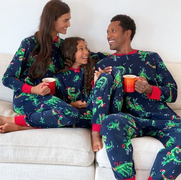 Jammies For Your Families Dinosaur One-Piece Pajamas
