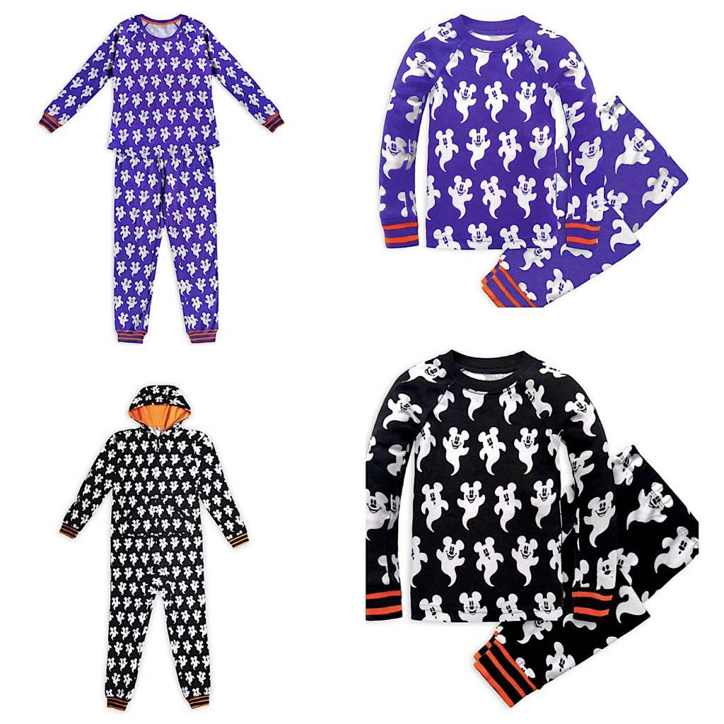 Family Matching Mickey Mouse Halloween Pajamas