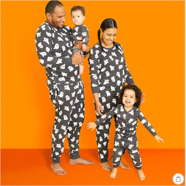 Halloween Ghost Matching Family Pajamas Collection