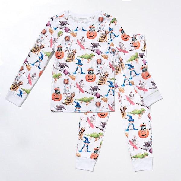 Hart + Land Halloween Dogs Family Matching Pajamas