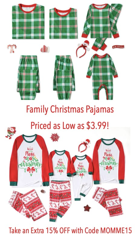 Cheap Familyy Christmas Pajamas