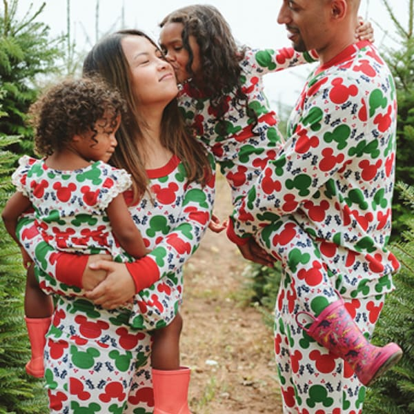 Disney Mickey Mouse Organic Cotton Family Matching Pajamas