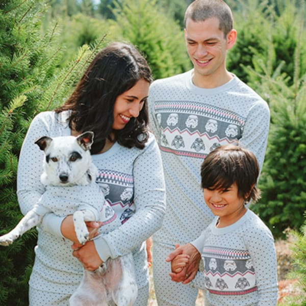Family Matching Star Wars FairIsle Holiday Pajamas