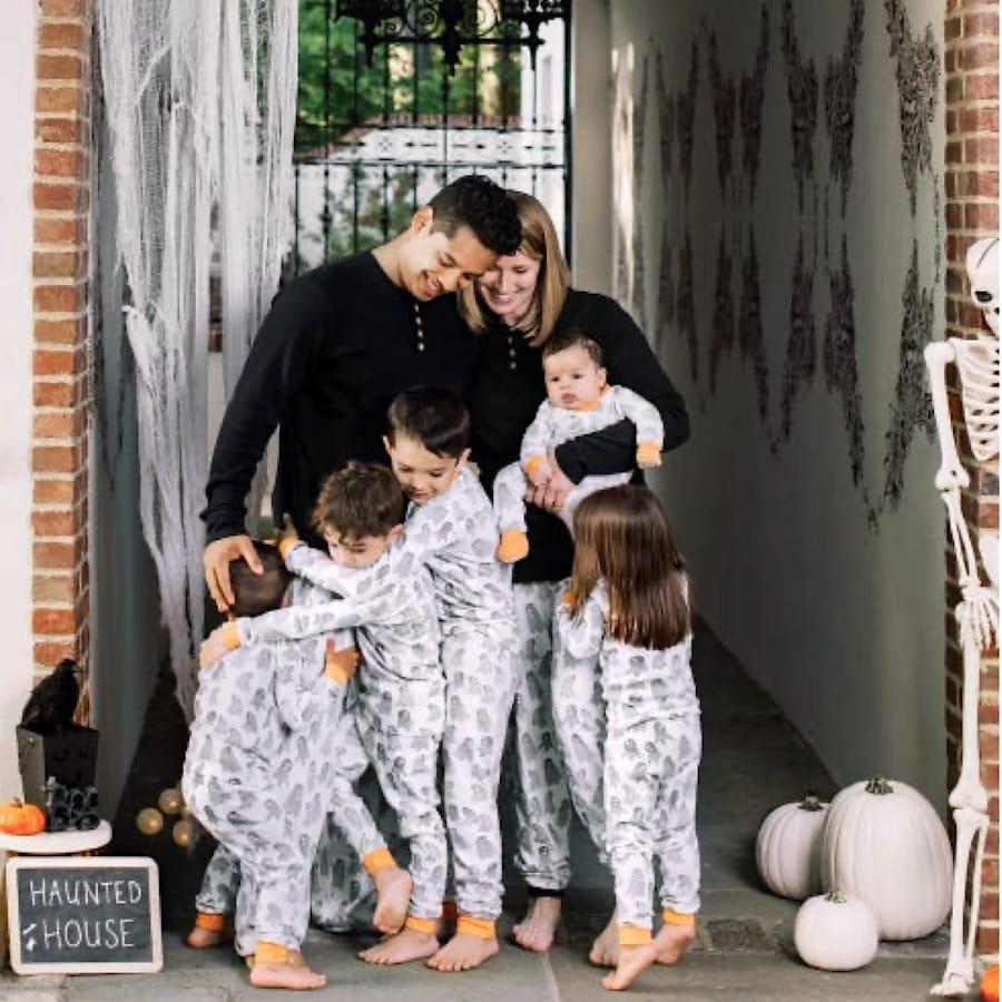 Ghosties & Goblins Family Matching Organic Cotton Halloween Pajamas
