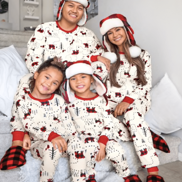 Winter Forest Family Holiday Pajamas Collection