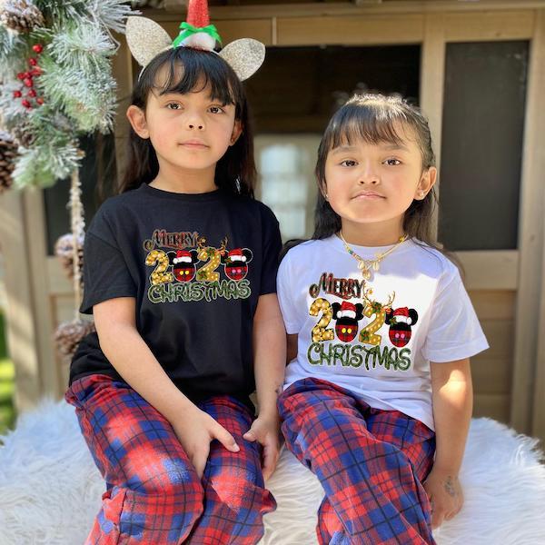 Matching Mickey Family Christmas Pajamas