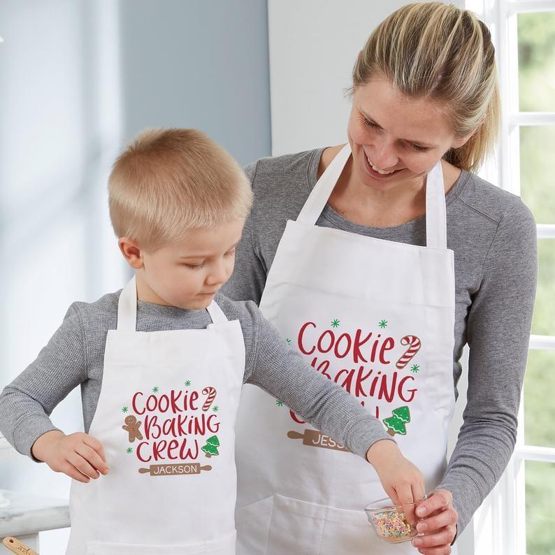 Baking Spirits Bright Mom + Me Aprons