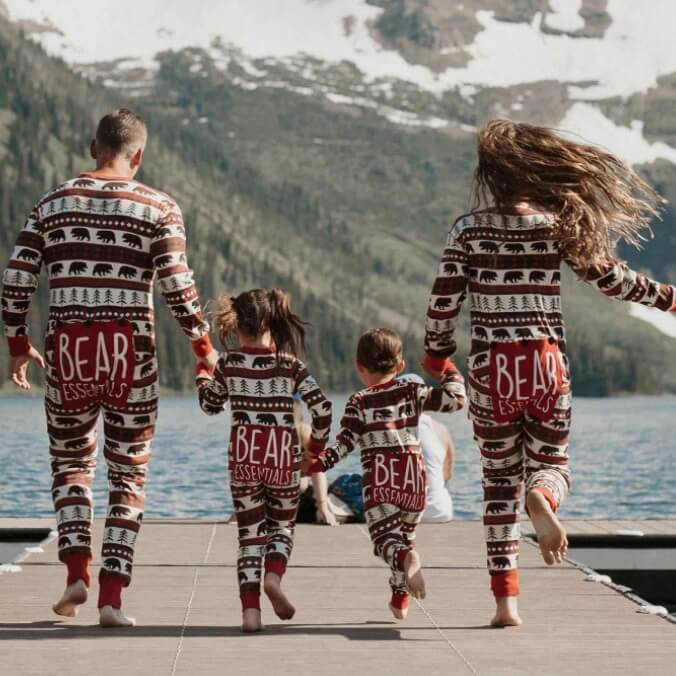 Bear Essentials Family Holiday Pajamas