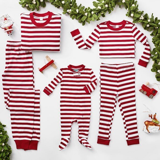 Classic Stripe Family Holiday Pajamas