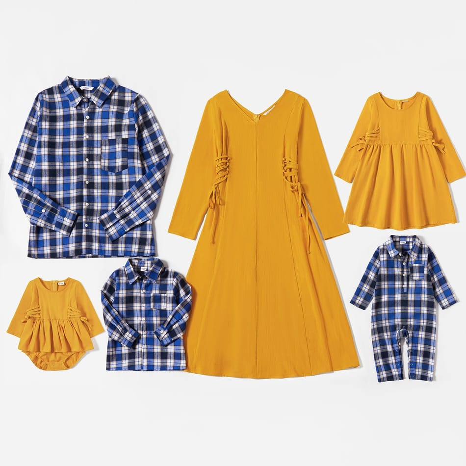 Family Matching Cotton Autumn Outfits