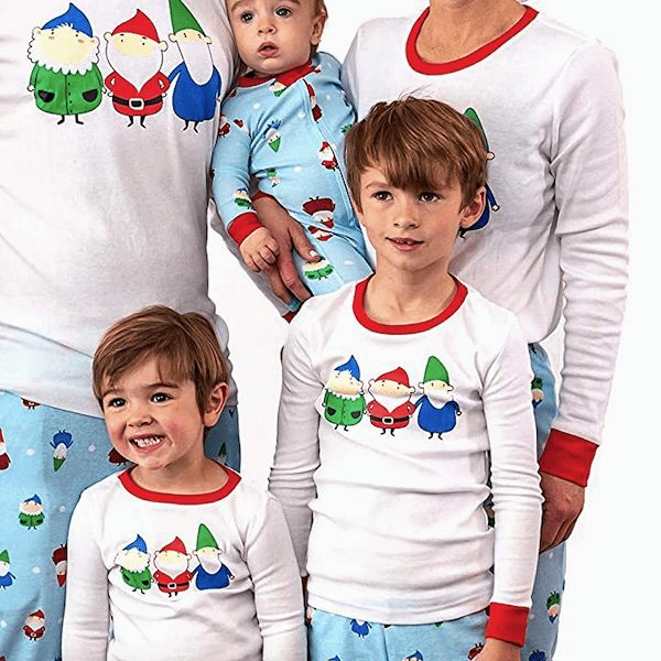 Festive Gnome Family Matching Christmas Pajamas