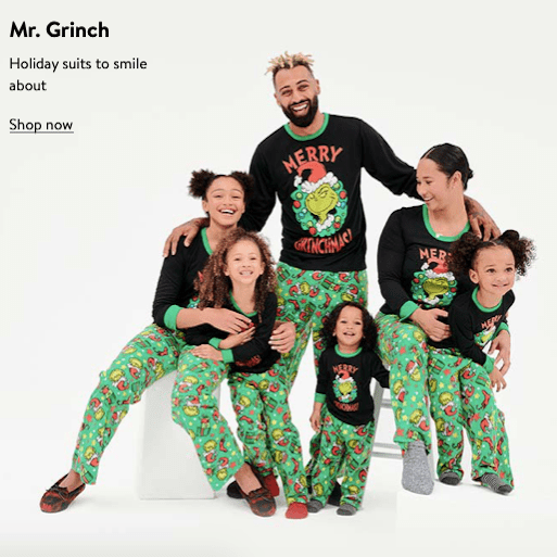Grinch Family Matching Christmas Pajamas