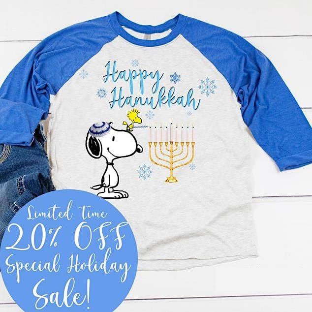 Happy Hanukkah Snoopy Shirt