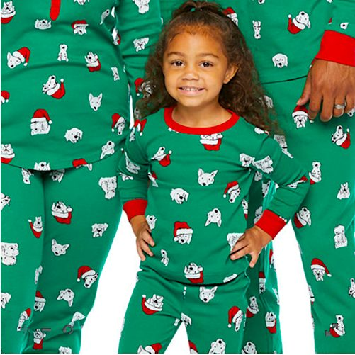 Happy Howlidays Family Matching Christmas Pajamas