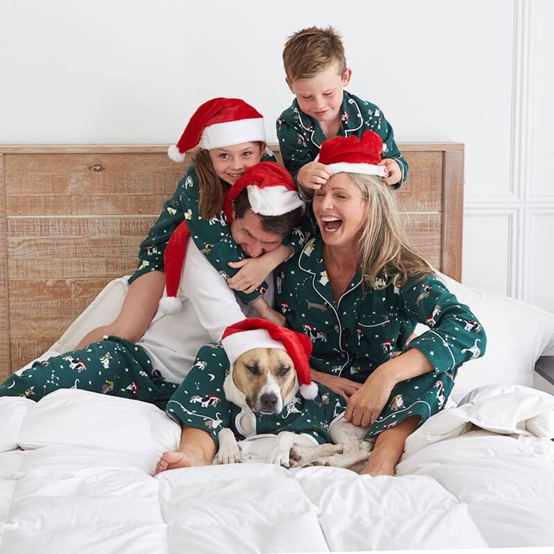 Holiday Dog Family Christmas Pajamas