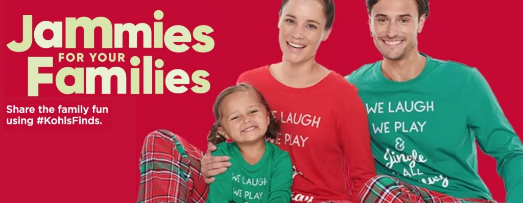 Khols Family Holiday Pajamas