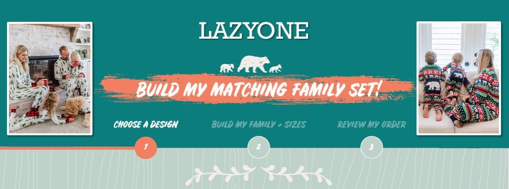 LazyOne Family Matching Planner
