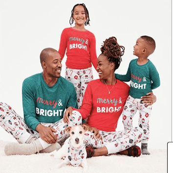 Merry and Bright Family Matching Christmas Pajamas