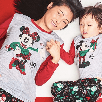 Mickey & Minnie Family Pajamas Collection