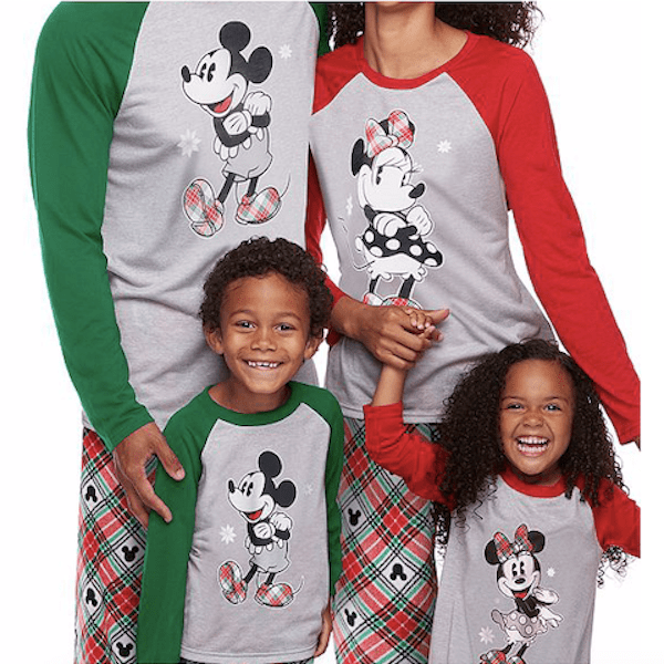 Mickey Mouse & Minnie Mouse Family Christmas Pajamas Collection