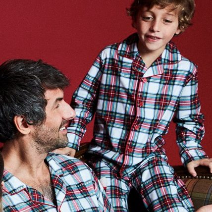 Mix It Tartan Family Matching Christmas Pajama Set