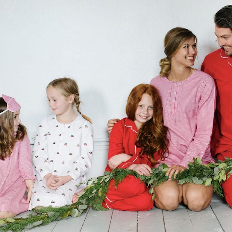 Mix + Match Red Holiday Pajamas